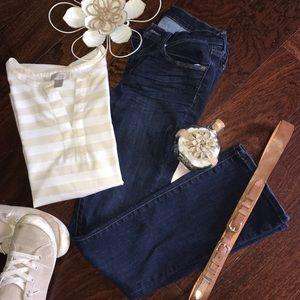 Banana Republic Slim Fit Bootcut Jeans